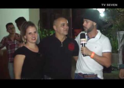 TV Seven – Show do Billy e Bill no Palestra EC